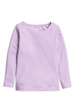 2-pack long-sleeved tops - Light purple - Kids | H&M 3