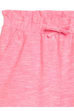 Shorts in jersey - Rosa neon mélange -  | H&M IT 3