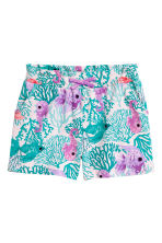 Jersey shorts - Light pink/Fish - Kids | H&M CN 2