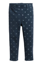 Treggings - Dark blue/Spotted - Kids | H&M 2