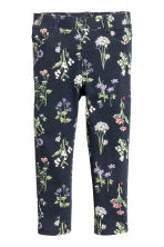 Treggings - Dark blue/Floral - Kids | H&M CN 2