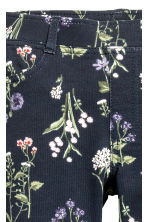 Treggings - Dark blue/Floral - Kids | H&M CN 3