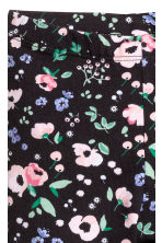 Printed leggings - Dark blue/Floral - Kids | H&M 3
