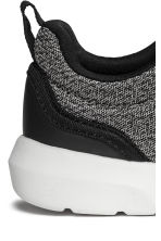 Mesh trainers - Black marl - Kids | H&M CN 4