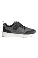 Sneakers in mesh - Nero mélange - BAMBINO | H&M IT 1