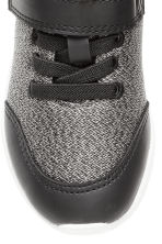 Mesh trainers - Black marl - Kids | H&M 3
