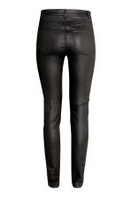 Superstretch trousers - Black/Coated - Ladies | H&M 3