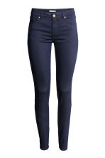 Superstretchbroek - Donkerblauw - DAMES | H&M BE 2