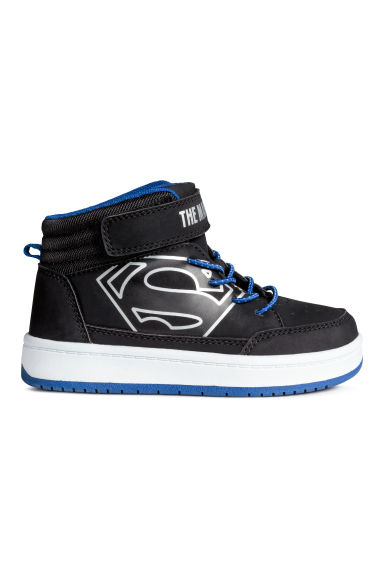 Hi-top trainers - Black Batman/Superman - Kids | H&M CN 1