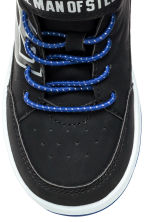 Hi-top trainers - Black Batman/Superman - Kids | H&M 4