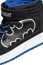 Hi-top trainers - Black Batman/Superman - Kids | H&M 3