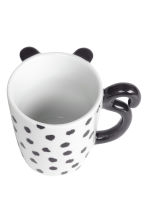 Tazza in porcellana con pois - Bianco/nero - HOME | H&M IT 2