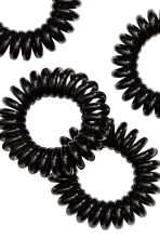 5-pack hair elastics - Black - Ladies | H&M 2