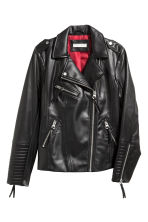 Biker jacket - Black - Ladies | H&M GB 2
