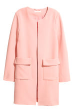 Short coat - Light pink - Ladies | H&M CN 2