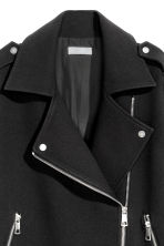 Biker coat - Black -  | H&M 3
