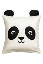 Cushion cover with ears - White/Panda - Home All | H&M CN 2