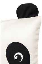 Cushion cover with ears - White/Panda - Home All | H&M CN 3