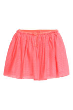 Tulle skirt with glitter - Neon pink -  | H&M 2