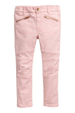 Biker treggings - Light pink -  | H&M 2