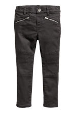 Biker treggings - Black - Kids | H&M CN 2