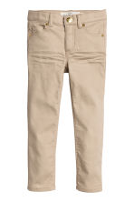 Twill trousers - Beige - Kids | H&M CN 2