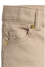 Twill trousers - Beige - Kids | H&M CN 3