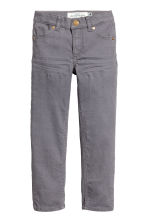 Twill trousers - Dark grey - Kids | H&M 3