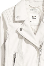 Biker jacket - White - Kids | H&M 3