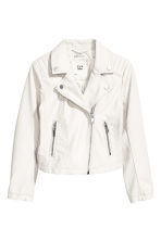 Biker jacket - White - Kids | H&M 2