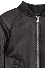 Padded bomber jacket - Black - Kids | H&M CN 3