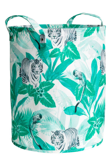 Storage basket - Green/Jungle - Home All | H&M CN 1