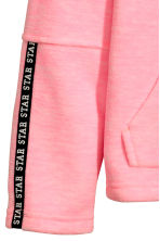 Fleece jacket - Neon pink marl -  | H&M CN 3
