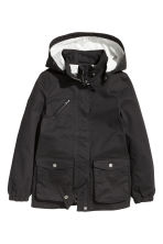 Cotton parka - Black - Kids | H&M CN 2
