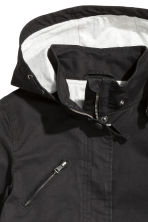Cotton parka - Black - Kids | H&M CN 4