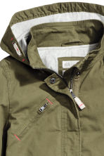Cotton parka - Khaki green - Kids | H&M CA 3