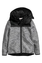 Softshell jacket - Dark grey marl - Kids | H&M CN 2