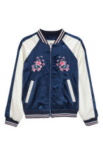 Giacca da baseball - Blu scuro -  | H&M IT 2