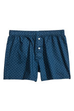 3-pack boxer shorts - Dark blue/Anchor - Men | H&M CN 3