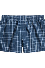 3件入四角褲 - Dark blue/Checked - Men | H&M 4