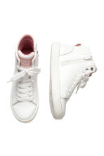 Hi-top trainers - White -  | H&M CA 2