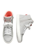Hi-top trainers - Light grey - Kids | H&M CN 2