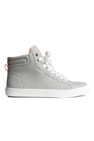 Hi-top trainers - Light grey - Kids | H&M CN 1