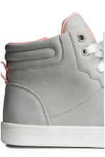 Hi-top trainers - Light grey - Kids | H&M 4