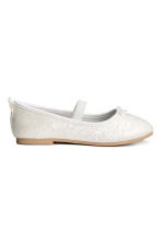 Glittery ballet pumps - White/Frozen - Kids | H&M 2