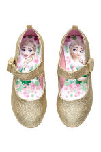 Glittery dressing up shoes - Gold/Frozen - Kids | H&M CN 1