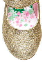 Glittery dressing up shoes - Gold/Frozen - Kids | H&M CN 3