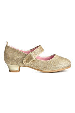 Glittery dressing up shoes - Gold/Frozen - Kids | H&M CN 2