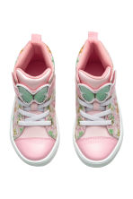 Hi-top trainers - Light pink/Frozen - Kids | H&M CN 2