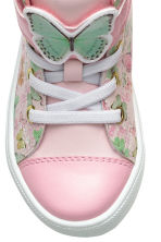 Hi-top trainers - Light pink/Frozen - Kids | H&M 4